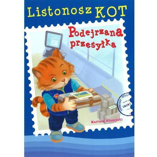 Książki dla dzieci, Listonosz Kot. Podejrzana przesyłka (opr. miękka)