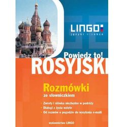 Powiedz to! Rosyjski. Rozmówki ze słowniczkiem + AUDIO CD (opr. broszurowa)