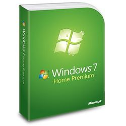 Windows 7 Home Premium, naklejka z kluczem i DVD 64-bit
