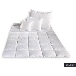 SELSEY Kołdra Micro II z poduszkami 40x40 cm