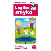 Książki dla dzieci, Kapitan nauka. logika smyka. zagadki obrazkowe (opr. twarda)