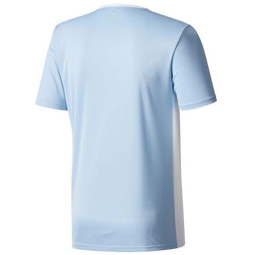 Bluzki dziecięce, Koszulka dla dzieci adidas Entrada 18 Jersey JUNIOR błękitna CD8414/CF1045