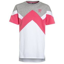 adidas Originals DRESS Sukienka letnia medium grey heather/real pink/white