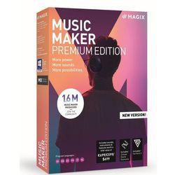 MAGIX Music Maker Premium Edition - BOX - Certyfikaty Rzetelna Firma i Adobe Gold Reseller