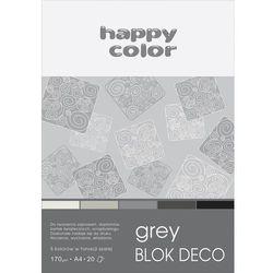 Blok Deco Grey - HAPPY COLOR. DARMOWA DOSTAWA DO KIOSKU RUCHU OD 24,99ZŁ