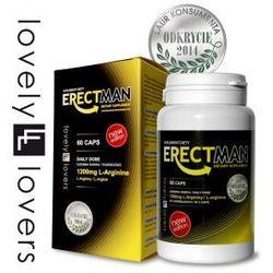 ErectMan 60 kaps. Silniejsza erekcja na dłużej 650081