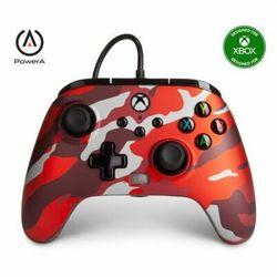 Kontroler POWERA Enhanced Metalic Red Como 1518910-01 (Xbox)