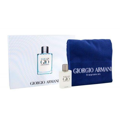 Zestawy zapachowe męskie, Giorgio Armani Acqua di Gio Pour Homme zestaw Edt 100ml + Ręcznik dla mężczyzn