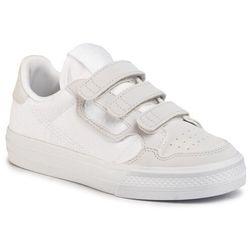 Buty adidas - Continental Vulc Cf C EG9096 Ftwwht/Ftwwht/Greone