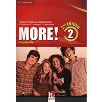 Książki do nauki języka, More! 2 Second Edition. Podręcznik + Cyber Homework + Online Resources More! 2 Second Edition. Ćwiczenia (opr. miękka)