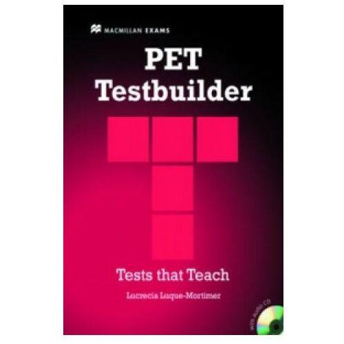 Książki do nauki języka, PET Testbuilder with Answer Key and Audio CD (opr. miękka)