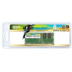 Pamięć do laptopa Silicon Power DDR4, 8GB, 2133MHz, CL17 (SP008GBSFU213B02) Darmowy odbiór w 21 miastach!