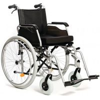 Wózki inwalidzkie, Wózek inwalidzki ręczny z hamulcami dla opiekuna
