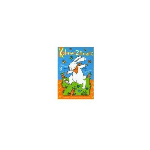 Książki dla dzieci, Kolorowe zwierzaki cz. 3 (opr. miękka)