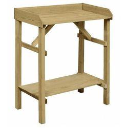 Drewniany stolik ogrodniczy - Duncan