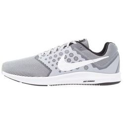 Nike Performance DOWNSHIFTER 7 Obuwie do biegania treningowe wolf grey/white/black
