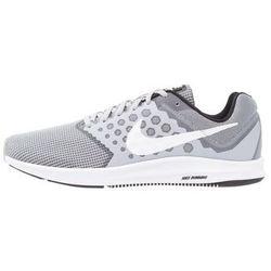 Nike Performance DOWNSHIFTER 7 Obuwie do biegania treningowe wolf grey/white/black