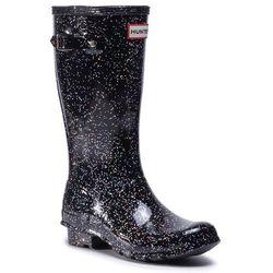 Kalosze HUNTER - Org Kids Giant Glitter Boots JFT6075RGT Black(Blk)