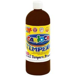 Farba Carioca tempera brązowa 1000ml (ko03/22)