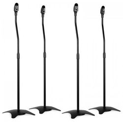 4x stojaki na głośniki czarne - uniwersalne do głośników satelitarnych