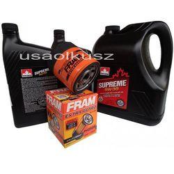 Olej 5W30 oraz filtr oleju silnika Chevrolet Tahoe 2000-2006