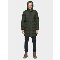 Płaszcz puchowy męski KUMP200 - khaki