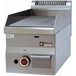 Płyta grillowa gazowa gładka nastawna | 295x470mm