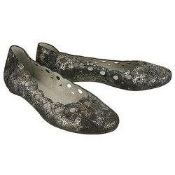 MACIEJKA 01299-20/00-5 czarny srebro, baleriny damskie