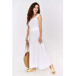 Spódnica długa - Biały