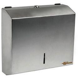 Pojemnik na ręczniki papierowe listki nierdzewny PL-S1