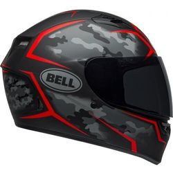 BELL KASK QUALIFIER STEALTH CAMO MATTE BLACK/RED