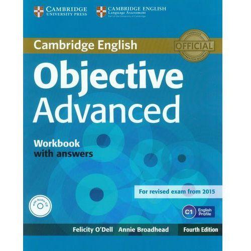 Książki do nauki języka, Objective Advanced. Ćwiczenia z Kluczem + CD (opr. miękka)