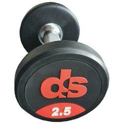 Hantel ogumowany DS 17.5 kg