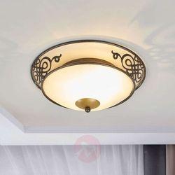 EGLO 86711 - Lampa Plafon Kinkiet MESTRE 1x E27/60W antyczny brąz / złoty