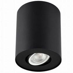 Downlight LAMPA sufitowa PILAROS LS-DW001-CZARNA Auhilon regulowana OPRAWA tuba metalowa czarna