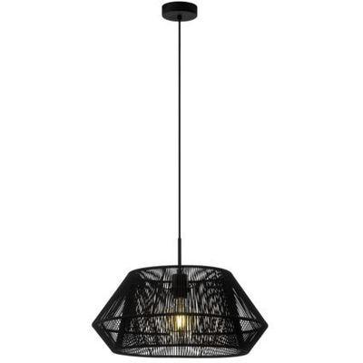Lampa wisząca Eglo Palmones 97912 sufitowa 1x60W E27 czarna (9002759979126)
