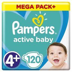 Pampers pieluchy ABD Mega Pack Plus Maxi+ 120szt