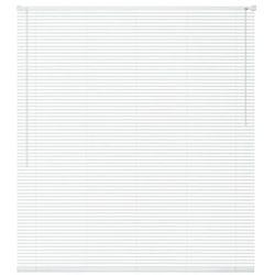 vidaXL Żaluzja plastikowa PVC, biała 160x220 cm Darmowa wysyłka i zwroty
