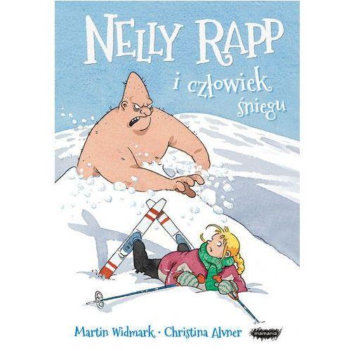 Książki dla dzieci, Nelly Rapp i człowiek śniegu - Martin Widmark (opr. twarda)