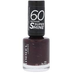 Rimmel London 60 Seconds Super Shine lakier do paznokci 8 ml dla kobiet 345 Black Cherries