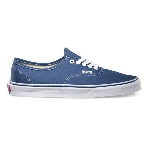 Męskie obuwie sportowe, buty VANS - Authentic Navy (navy) rozmiar: 36.5