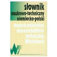 Słowniki, encyklopedie, Słownik naukowo-techniczny niemiecko-polski (opr. twarda)
