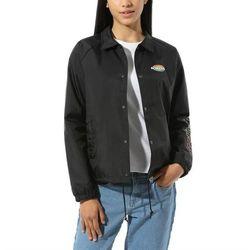 Kurtka - thanks coach dome jacket black (blk) marki Vans