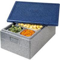 Kosze i pojemniki gastronomiczne, Pojemnik termoizolacyjny z polipropylenu GN 1/1 250 mm | THERMO FUTURE BOX, 056250