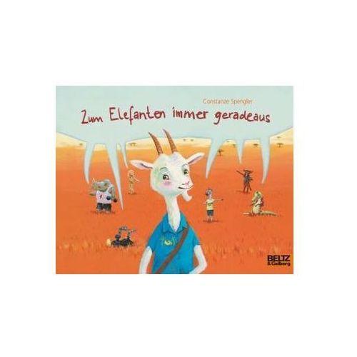 Pozostałe książki, Zum Elefanten immer geradeaus Spengler, Constanze