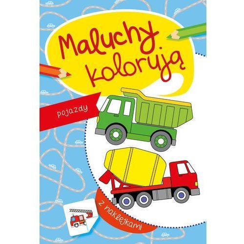 Książki dla dzieci, Maluchy kolorują pojazdy - Praca zbiorowa