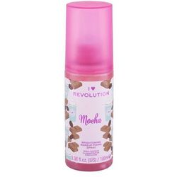 Makeup Revolution London I Heart Revolution Fixing Spray Mocha utrwalacz makijażu 100 ml dla kobiet