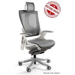 Fotel WAU 2 - biały/grafitowy i w kolorach siatki - ZŁAP RABAT: KOD150
