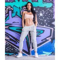 """Odzież fitness, NEBBIA Aksamitne spodnie """"BOYFRIEND"""" N649"""