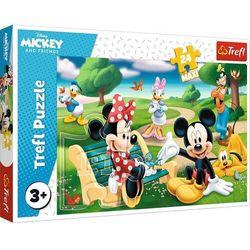 Puzzle 24maxi.Myszka Miki